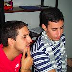 Fabio y Héctor preparan la programación anual de la Unidad Scout