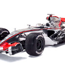 McLaren MP4-21 silver launch left-front