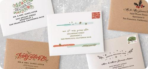 minted free address printing