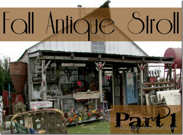 Junk and Antique Shopping