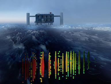 eventos de neutrino mais energéticos