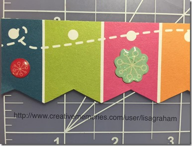 Holidazzle and Look on the Bright Side papers go so well together! LisasWorkshop.blogspot.com