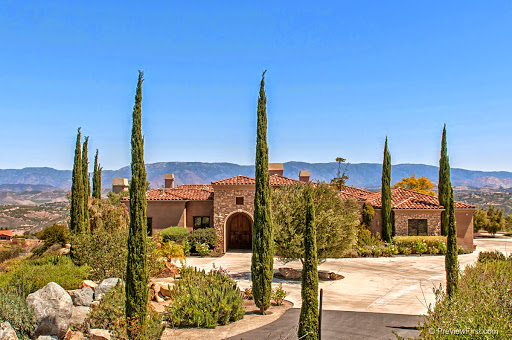 http://www.propertypanorama.com/instaview/snd/150020850 EXTRAORDINARY Tuscan Villa w/270 degree panoramic views! Architect Jay Crawford designed this top quality single level home w/Casita, courtyard & infinity edge pool/spa looking out to one of the best views in San Diego! See VT & supplement for details. Pella doors/windows, antique reclaimed beams, ancient travertine & Hickory hardwood flooring, granite counters, Chef's dream kitchen w/Sub-Zero Refrigerator -Wolf double ovens-Viking gas range-Fisher Paykel dishwasher, Butler's Pantry. Wine cellar! Library! Great room w/views.  MLS 150020850  $1,275,000