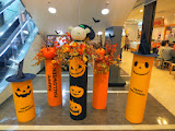 Halloween decorations at Solaria Stage