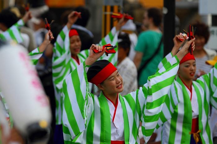 第59回よさこい祭り☆本祭1日目・万々競演場87☆上1目1656