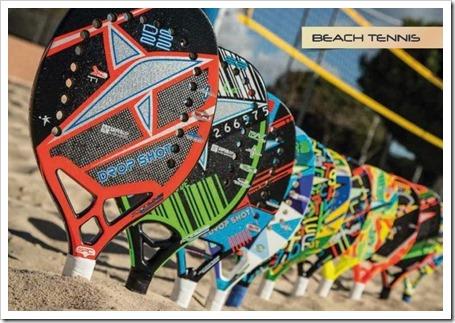 Drop Shot y el Beach Tennis juntos desde el principio. Colección 2015 Tenis Playa.