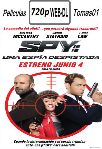 Spy: Una Espía Despistada (2015) [WEB-DL 720p/Dual Latino-ingles]