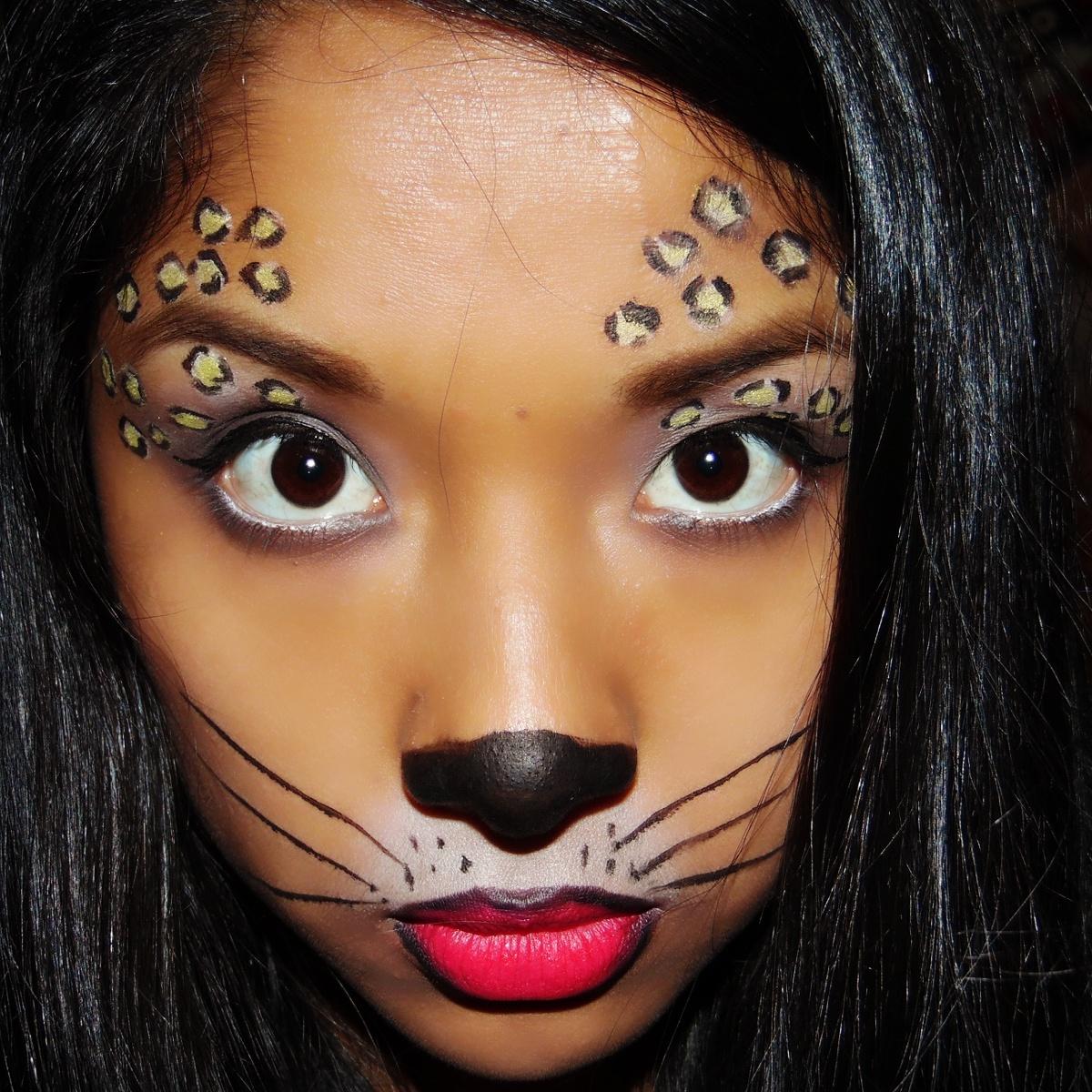 maquillaje leopardo facil