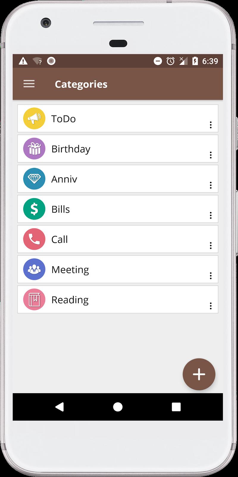 Just Reminder with Alarm Screenshot 3