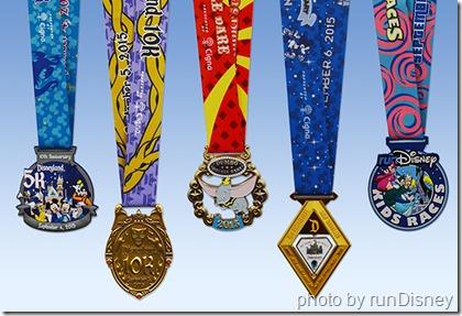 2015 DL medals