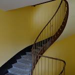 Familistère : musée, escalier