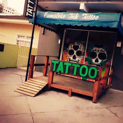Estúdio de Tattoo Camaleão ink, R. da Independência, 1628 - Areias, São José - SC, 88113-280, Brasil, Loja_de_Tatuagens, estado Santa Catarina