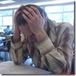 Nathan setting the tone for the exam by Richard Riley on flickr 150x150 75pc