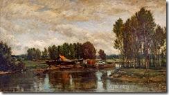 charles-francois-daubigny-barcos-en-el-oise-pintores-y-pinturas-juan-carlos-boveri