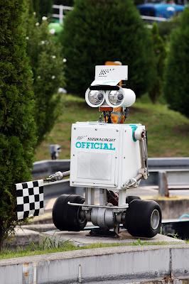 WALL-E Suzuka Circuit Official на Гран-при Японии 2012