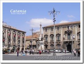 【Italy♦義大利】西西里*Catania 卡塔尼亞 - 大象噴泉, 魚市場, 主教堂, Etna大道, La Paglia