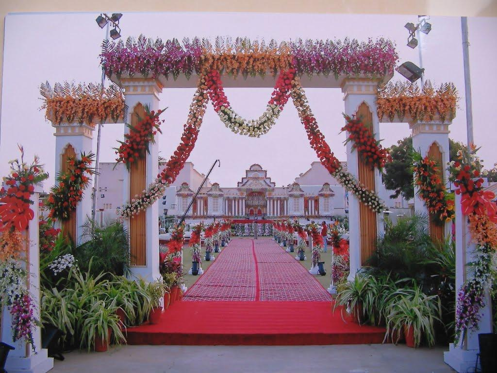 Wedding Hall Entrance