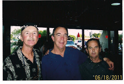Brian, Frank Nasworthy and Bruce