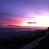 Sunset over the Gulf of Mexico in Destin FL 03232012a