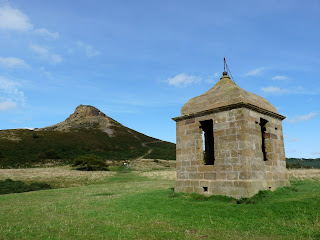 Shooting Lodge with Roseberry Topping