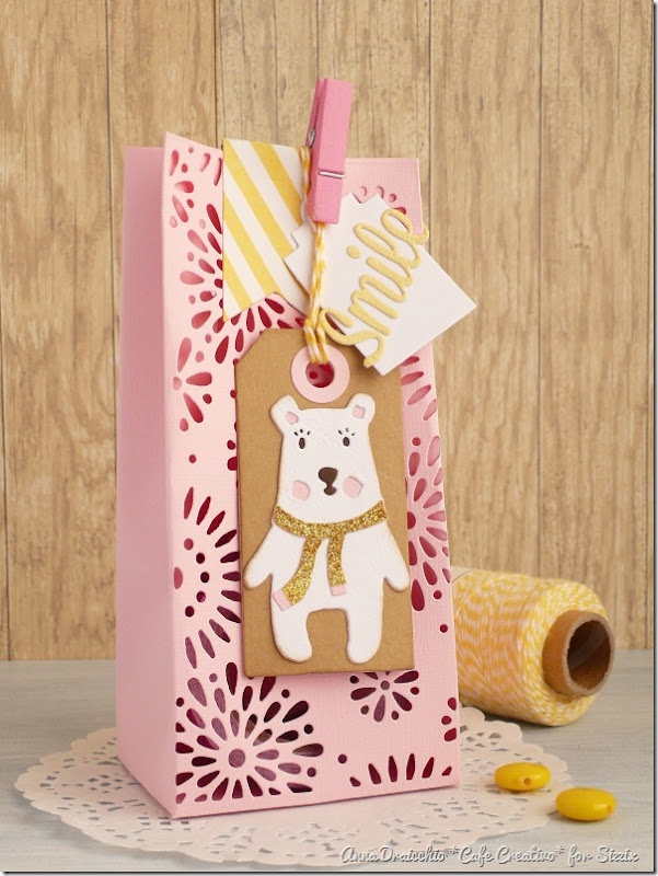 big shot sizzix dies-treat box-bear tag by cafecreativo (1)