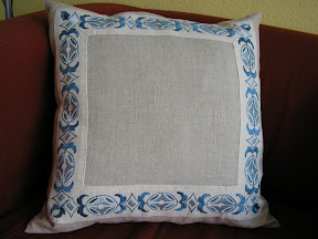 Vintage braid cushion 1.JPG