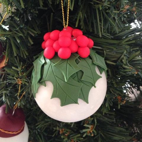 Ilfilodelleidee decorazioni natalizie fatte a mano in fimo per l 39 albero di natale - Decorazioni natalizie fatte a mano per bambini ...