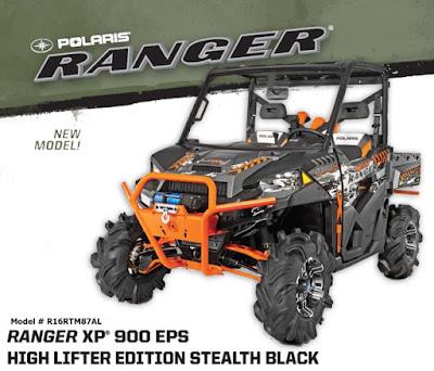 High Lifter Edition Ranger XP 900 EPS