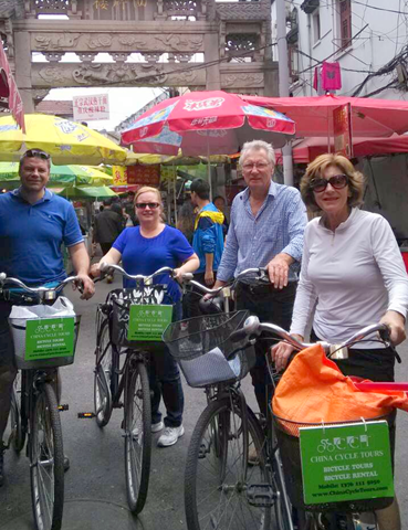 cykla i shanghai