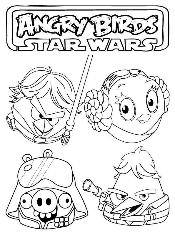 star wars coloring pages for kids Pages Coloring Online