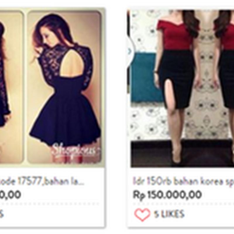 Berbelanja Pakaian Cantik Di Shopious