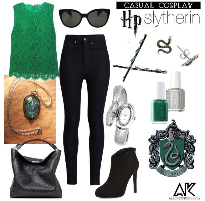 Casual Cosplay: Slytherin House | allonsykimberly.com