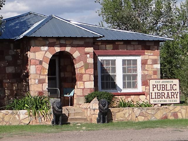 Kay Johnson Public Library; Valentine, TX