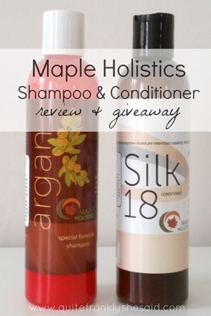 maple holistics review giveaway pinterest