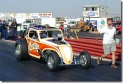 Bradford Fiat Dragster with Arny