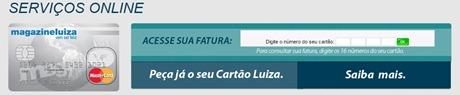 fatura-magazine-uiza-cred-www.2viacartao.com