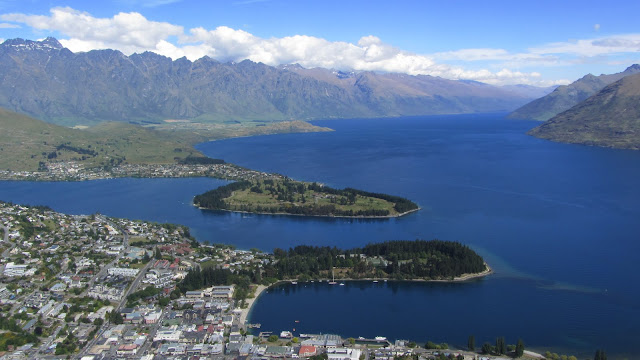 Queenstown, New Zealand - the adventure capital of the world.