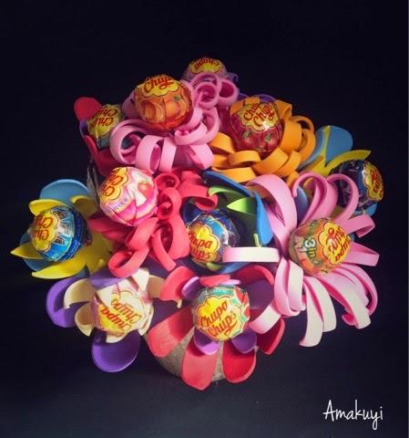 Flores-chula-chups-goma-Eva-Ramos-centros-tutorial