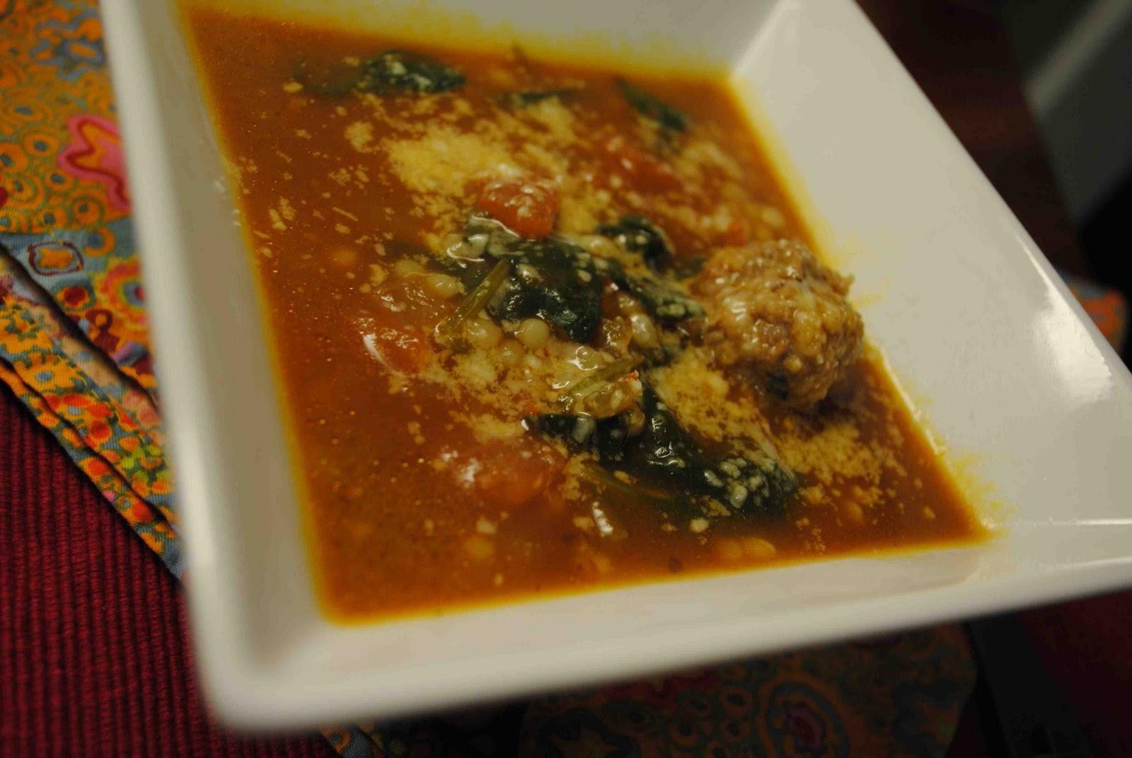italian wedding soup clipart