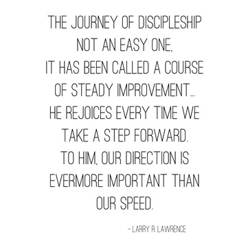discipleship -- lawrence