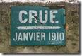 Crue 1910 plaque quai de bethune