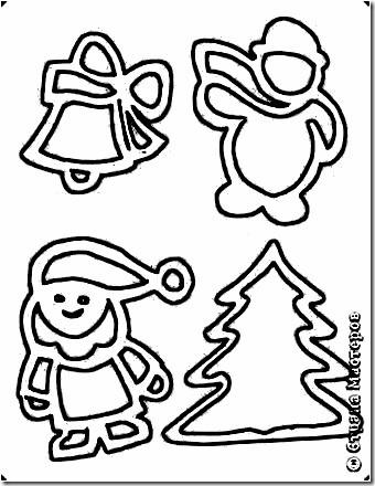 navidad arte recortado (11)11