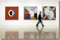 """MALAGA, 131018-Exposicion """"Hilma af Klint. Pionera de la abstraccion"""". Museo Picasso Malaga. Del 21.10.2013-09.02.2014.© MPM/ jesusdominguez.com"""
