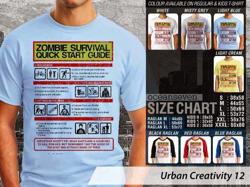 KAOS Zombie Survival Quick Start Guide Urban Creativity 12 distro ocean seven