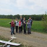 Bei der Flugerprobung und dem Schnupperfliegen auf unserem Flugplatz mit den beiden Easyglidern