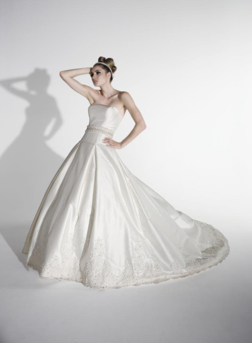 9584 Gown features Swarovski