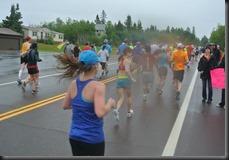 Cheryl runs on
