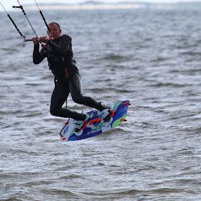 Jack the surfer by Per Holt Oksen-Larsen - Novices Only Sports ( jumping, surfer, on, board, surf )