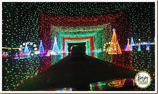 "Enjoy Utah!: REVIEW: Local Lighting Artist Creates ""Christmas In ..."