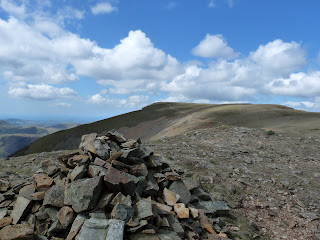 View back to Grasmoor